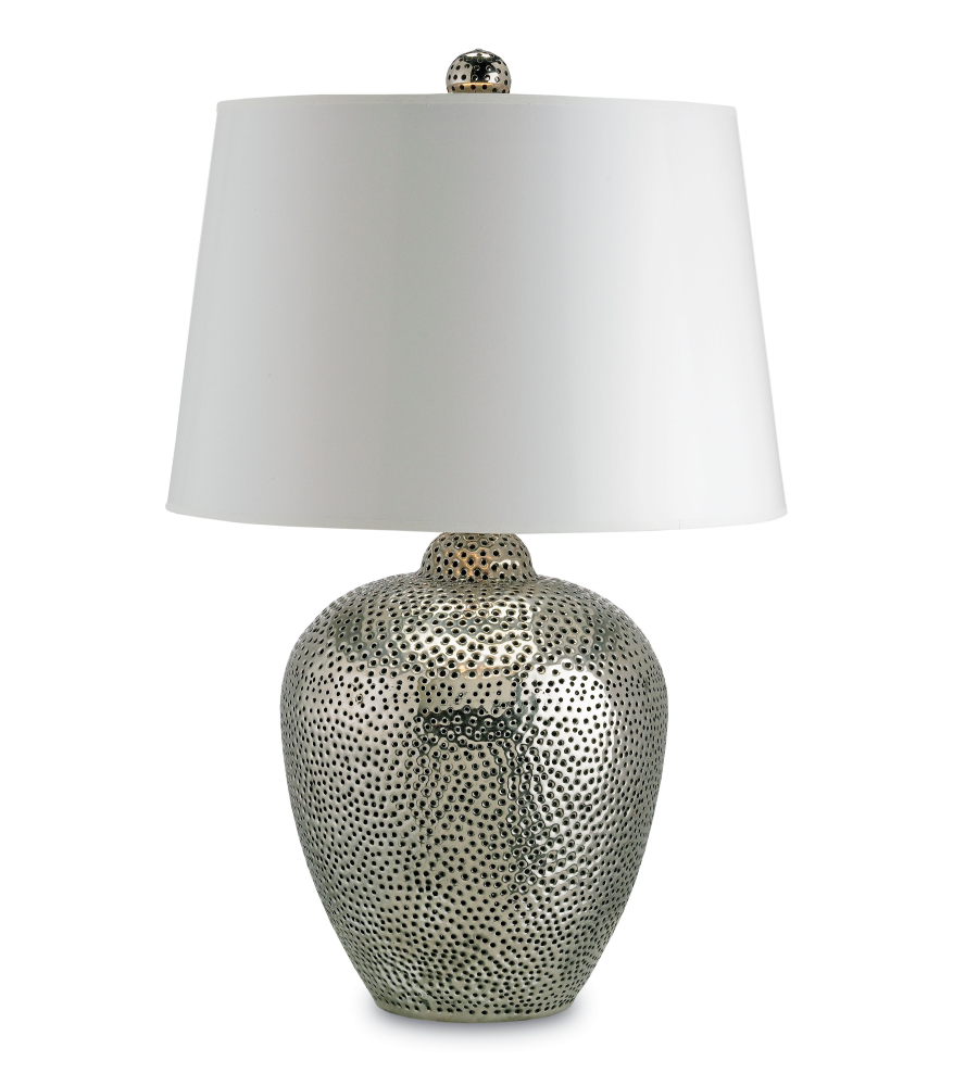 Currey And Company Side Tables: Currey And Company 6268 1 Light Talisman Table Lamp In