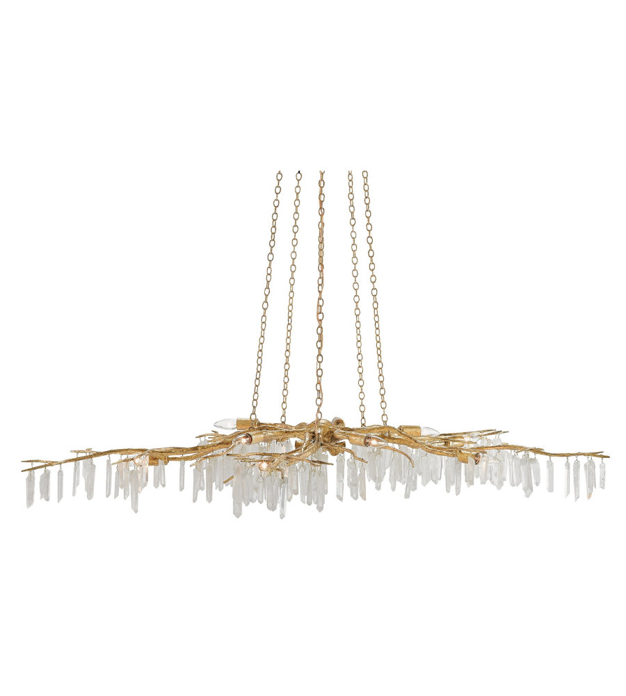 Currey Company Com: Currey & Company 9000-0040 Forest Light Chandelier In