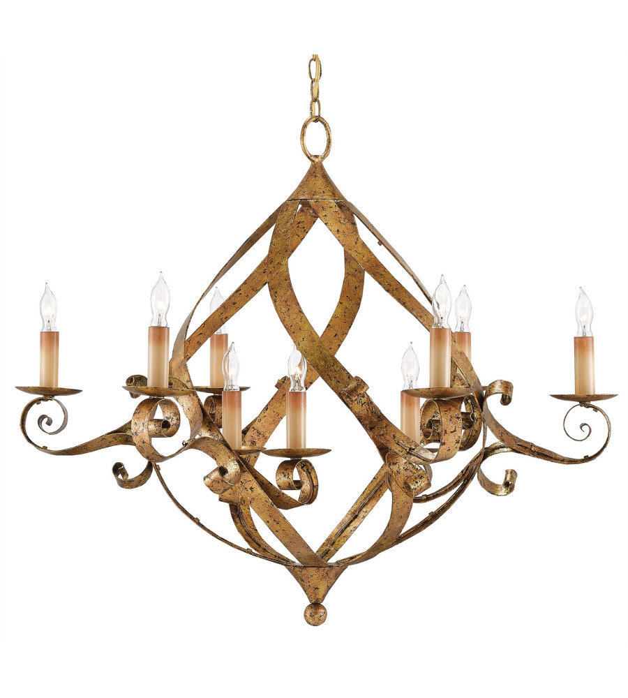 Currey And Company 9000-0057 Gramercy Chandelier In Gold