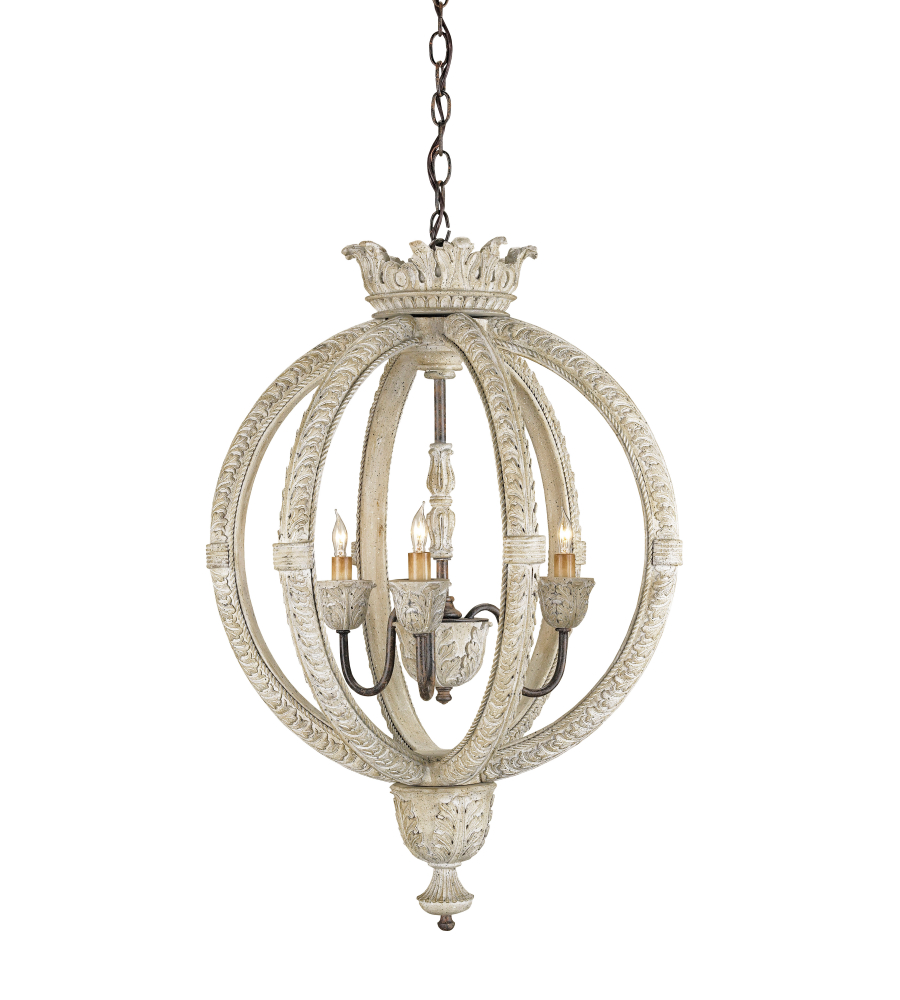 Currey And Company 9134 Dauphin Sm Chandelier, Small In