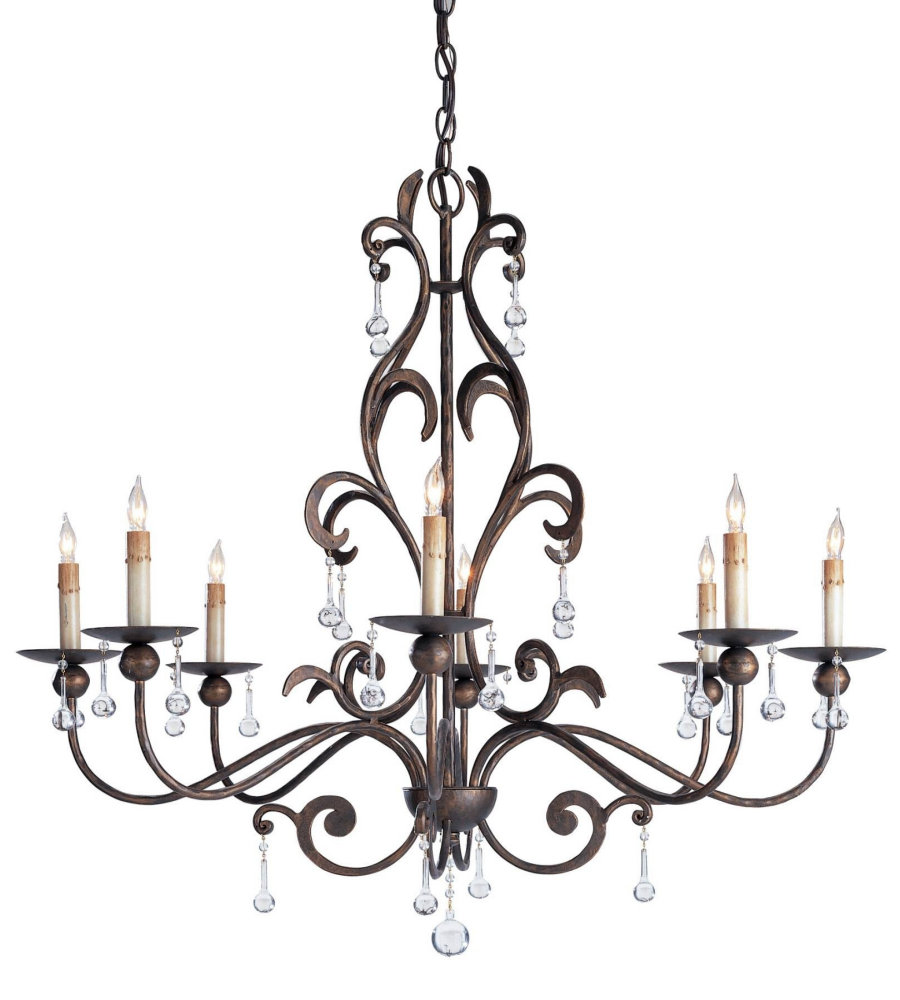 Currey And Company Coral Chandelier: Currey & Company 9380 Pompeii Chandelier In Cupertino