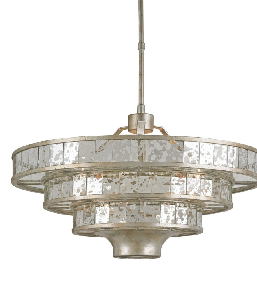 Currey and company 9597 3 light frapp chandelier in silver granello currey and company 9597 3 light frapp chandelier in silver granelloraj mirror arubaitofo Gallery