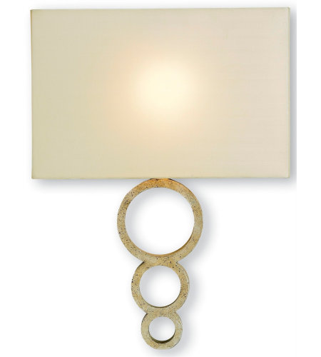 Currey And Company 5906 Pembroke Wall Sconce Currey In A Hurry In Silver Granello