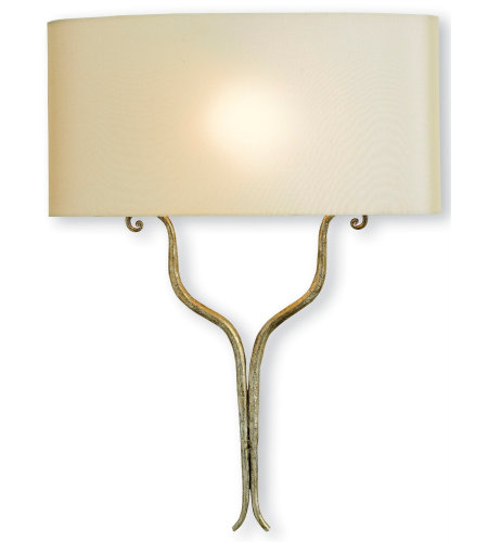 Currey And Company 5908 Winchester Wall Sconce Currey In A Hurry In Silver Granello