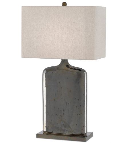Currey & Company 6000-0094 Musing Table Lamp in Rustic Metallic Bronze