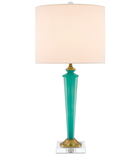Currey U0026 Company 6000 0158 Andalucía Table Lamp, Pepper Green In Pepper  Green/