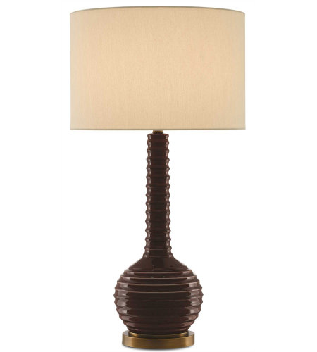 Shop For Currey And Company 1 Light 6000 0107 Brill Table Lamp In