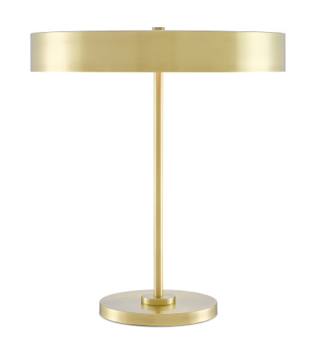 Currey & Company 6000-0500 Cernealia Table Lamp in Brushed Brass