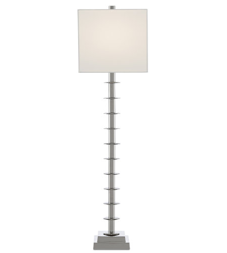 Currey & Company 6000-0512 Provision Table Lamp in Nickel