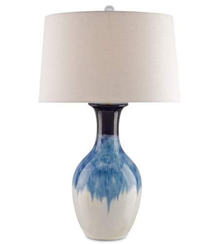 Currey & Company 6226 Fête Table Lamp In Cobalt