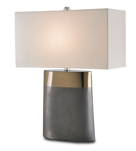 Currey & Company 6250 Moonrise Table Lamp In Bronze/Graphite
