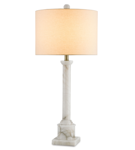 Currey And Company 6588 Carlisle Table Lamp In Natural/Bronze