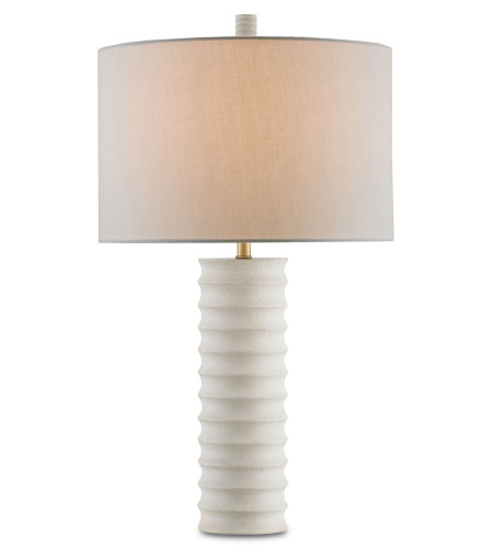 Currey & Company 6761 Snowdrop Table Lamp in Natural
