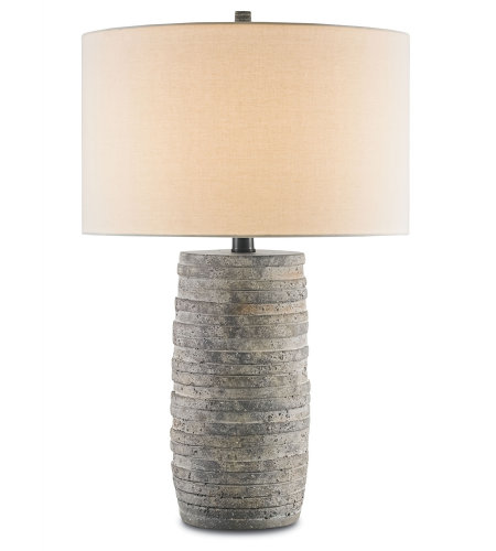 Currey And Company 6782 1 Light Innkeeper Table Lamp In Rustic