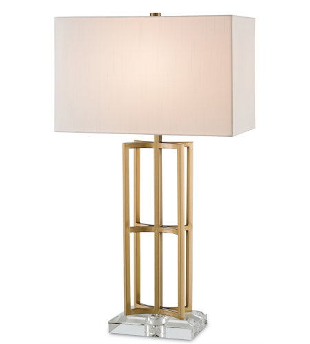 Currey & Company 6801 Devonside Table Lamp in Coffee Brass