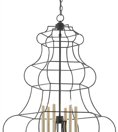 Currey & Company 9000-0276 Willmott Chandelier In Spanish Gilt