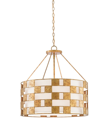 Currey & Company 9000-0330 Brownsea Chandelier in Rustic Gold