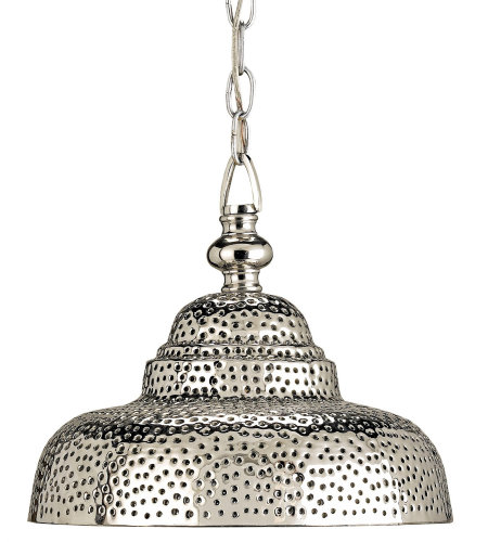 Currey & Company 9114 Lowell Pendant In Nickel