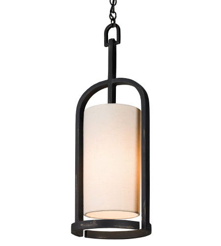Currey & Company 9238 Colwyn Pendant In French Black