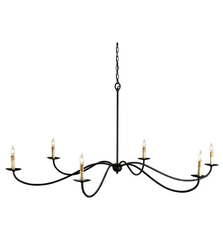 Currey And Company 9267 Saxon Chandelier Currey In A Hurry In Zanzibar Black