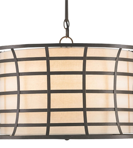 Currey & Company 9363 Coleville Chandelier In Bronze Gold
