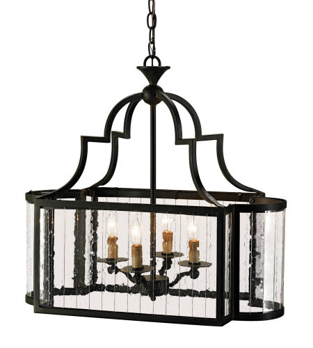 Currey & Company 9467 Godfrey Lantern In Old Iron