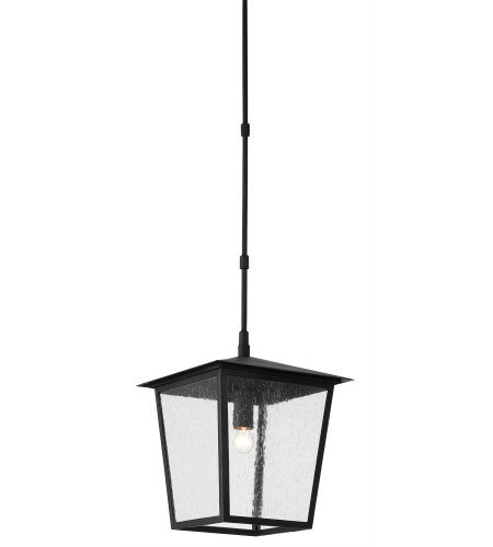 Currey & Company 9500-0001 Bening Outdoor Lantern, Small in Midnight