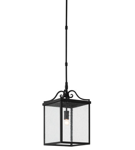 Currey & Company 9500-0005 Giatti Outdoor Lantern, Small in Midnight