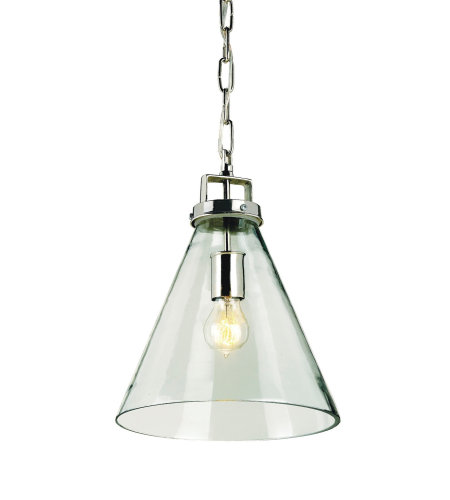Currey & Company 9699 Vitrine Pendant In Nickel