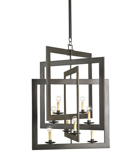 Currey And Company 9927 Middleton Chandelier Currey In A Hurry In Bronze Gold