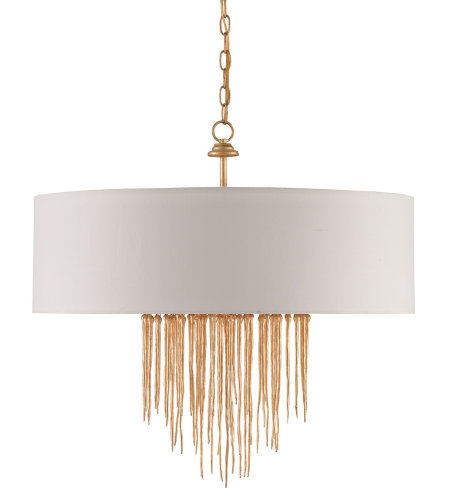 Currey & Company 9946 Zareen Chandelier In Contemporary Gold
