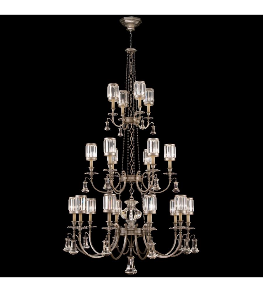 Fine Art Lamps 584840 2st Eaton Place 20 Light Chandelier