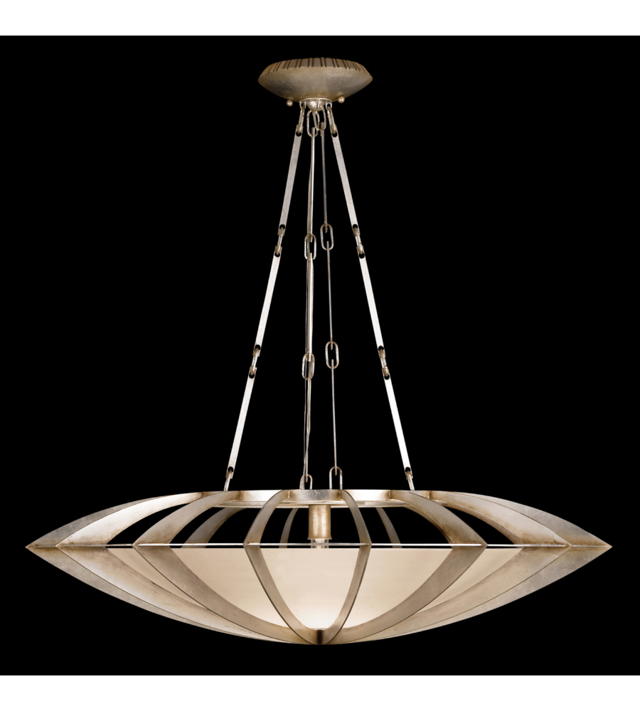 fine art lamps 787040st staccato 1 light pendant in silver. Black Bedroom Furniture Sets. Home Design Ideas