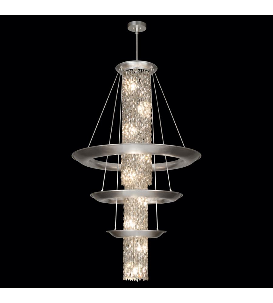 fine art lamps 813340st celestial 21 light pendant in. Black Bedroom Furniture Sets. Home Design Ideas