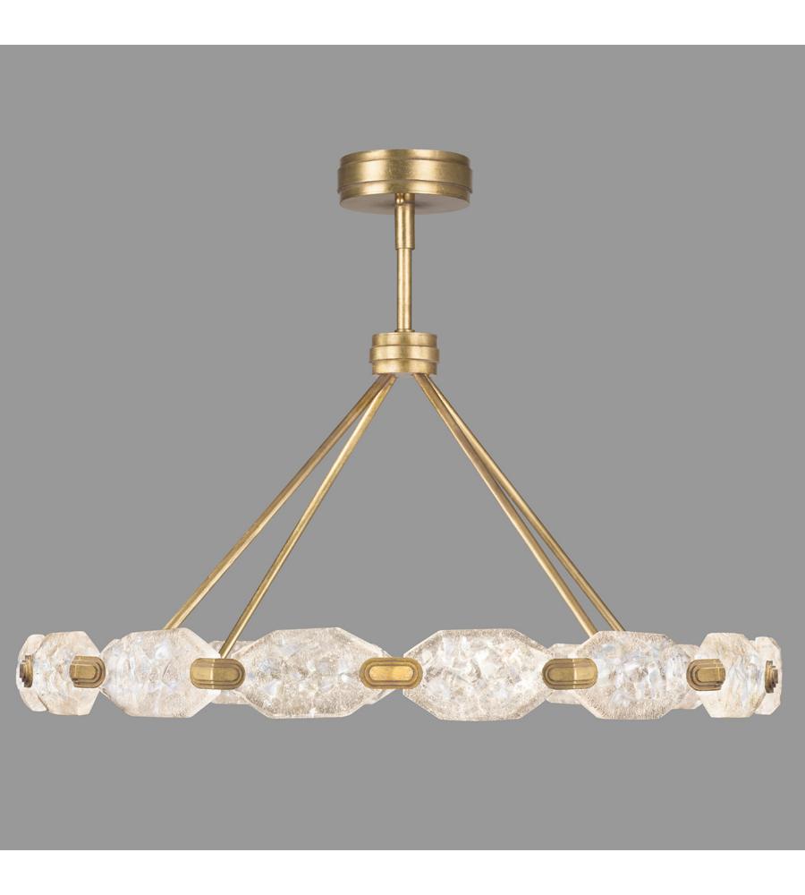 fine art lamps 873140 2st allison paladino 32 light pendant in gold