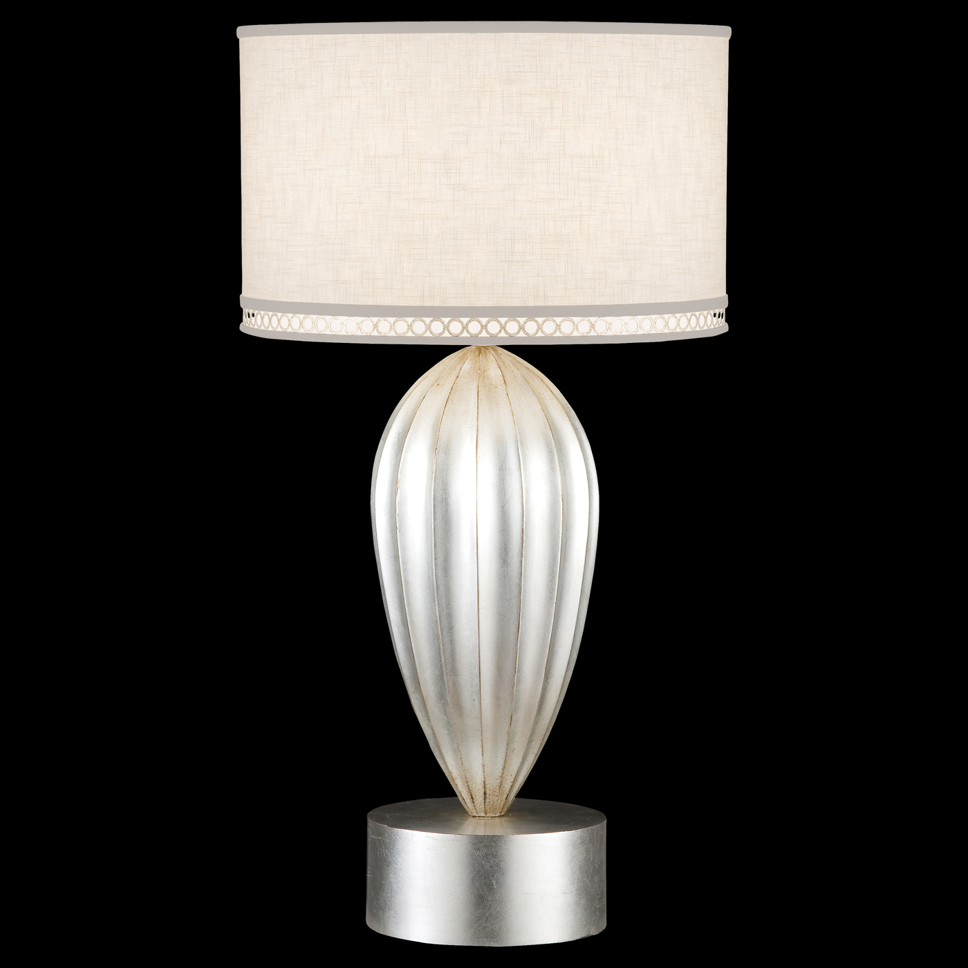 Fine art lamps 793110st allegretto 1 light table lamp in silver general information aloadofball Images