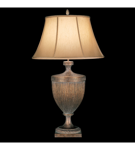 Fine Art Lamps 179310st Verona 1 Light Table Lamp In Gold