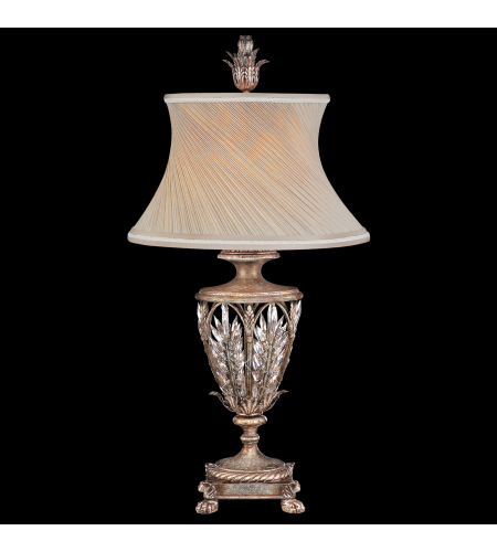Fine Art Lamps 301610st Winter Palace 1 Light Table Lamp In Silver