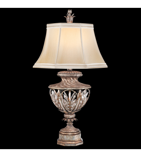 Fine Art Lamps 301810st Winter Palace 1 Light Table Lamp In Silver