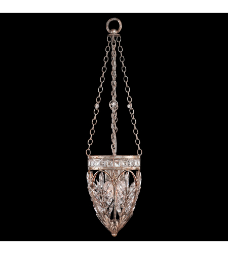 Fine Art Lamps 308840st Winter Palace 3 Light Pendant In Silver
