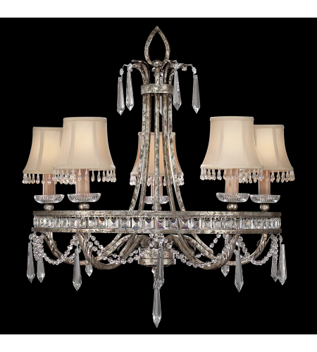 Fine Art Lamps 323740st Winter Palace 5 Light Chandelier In Silver