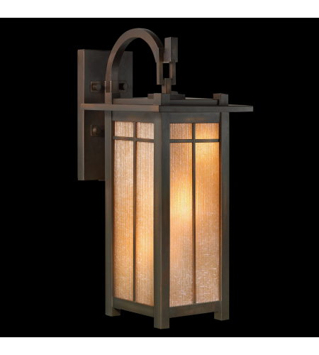 Fine Art Lamps 401381st Capistrano 3 Light Outdoor Wall Mount In Bronze