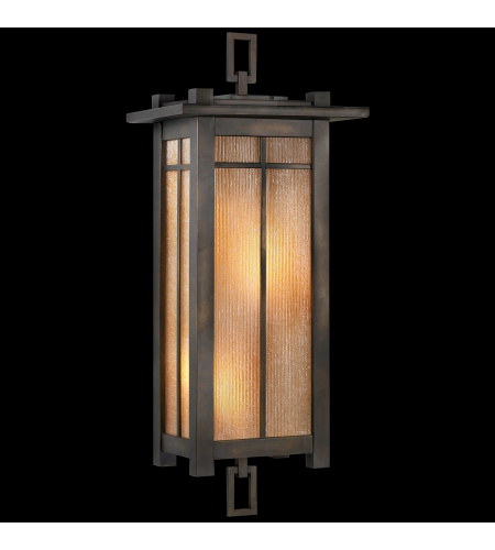 Fine Art Lamps 401581st Capistrano 2 Light Outdoor Coupe In Bronze