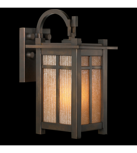 Fine Art Lamps 402181st Capistrano 1 Light Outdoor Wall Mount In Bronze