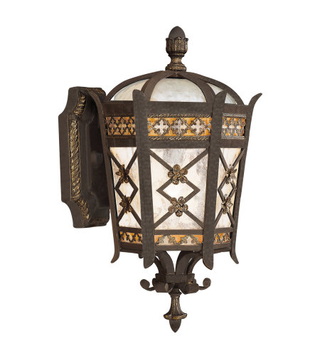Fine Art Lamps 404781ST Chateau Outdoor 1 Light Outdoor Wall Mount in Black