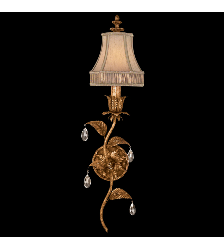 Fine Art Lamps 408050-2st Pastiche 1 Light Sconce In Gold