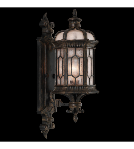 Fine Art Lamps 413781-1st Devonshire 1 Light Outdoor Wall Mount In Other Dark