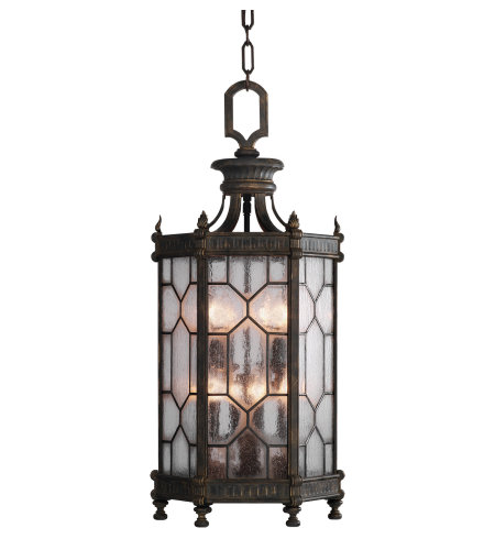 Fine Art Lamps 414282-1ST Devonshire 8 Light Outdoor Lantern in Other Dark
