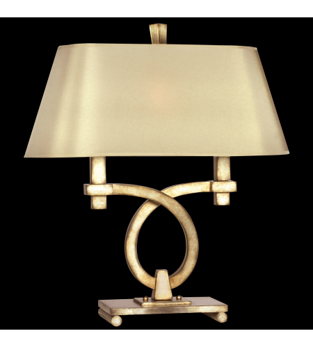 Shop for designer table lamps at foundry lighting fine art lamps 447110st portobello road 2 light table lamp in silver aloadofball Choice Image