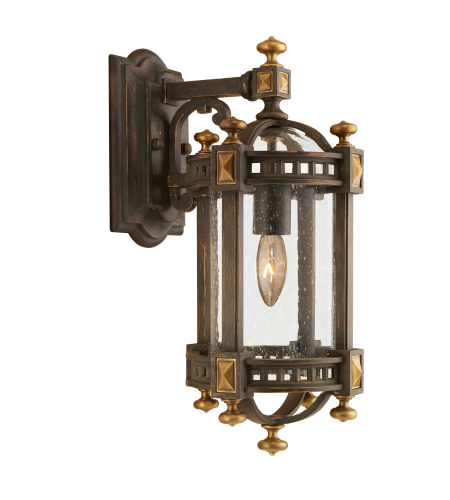 Fine Art Lamps 564581st Beekman Place 1 Light Outdoor Wall Mount In Other Dark